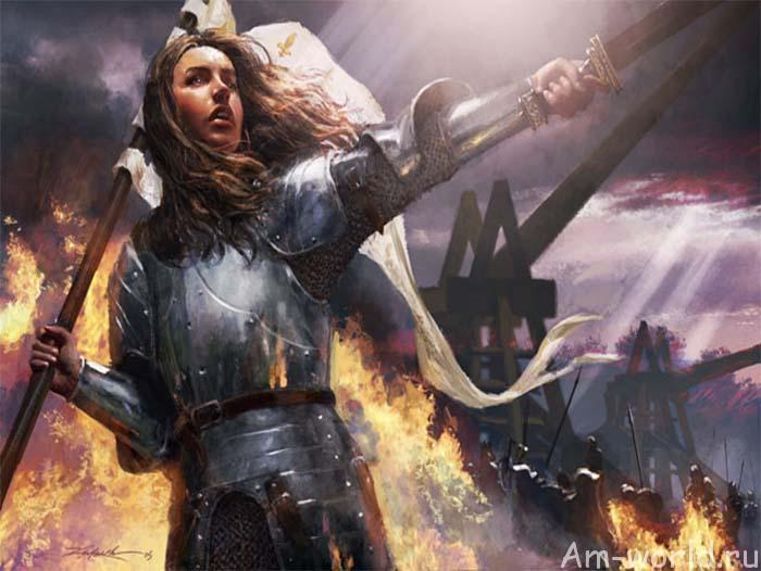 История Жанны д'Арк: новая версия