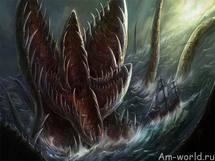 Кракен — ужас из морских глубин