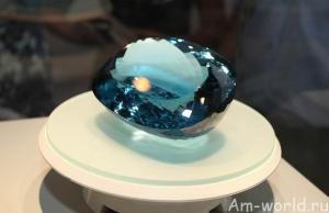 Голубой топаз «Марбелла»