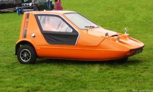 Трехколесный автомобиль. А надо ли было?