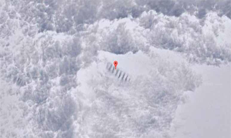 Загадочная лестница в Антарктиде