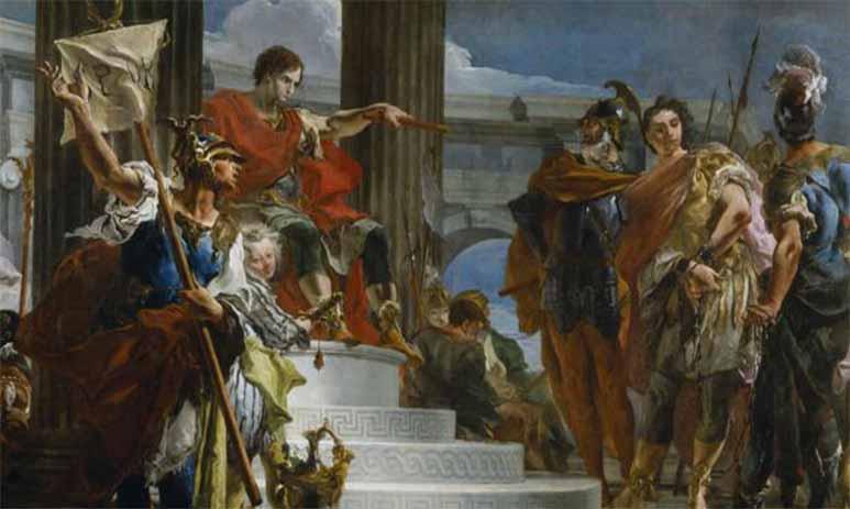 Победа Сципиона над Ганнибалом