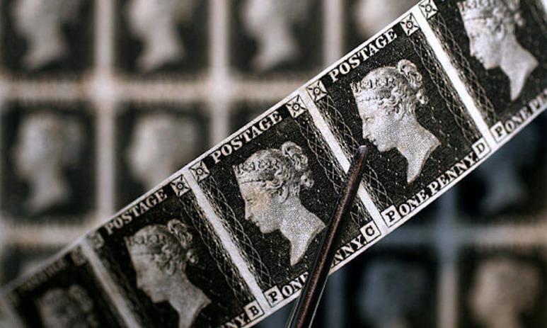 История почтовой марки