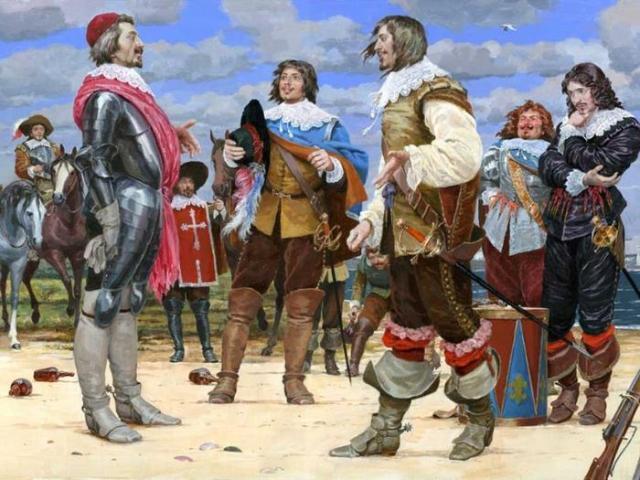 Мушкетеры короля - французский спецназ 4