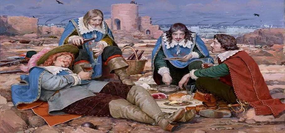 Мушкетеры короля - французский спецназ