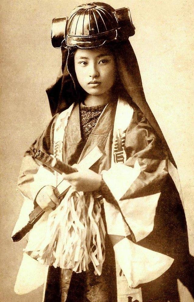Женщины-самураи - нежные воительницы 2