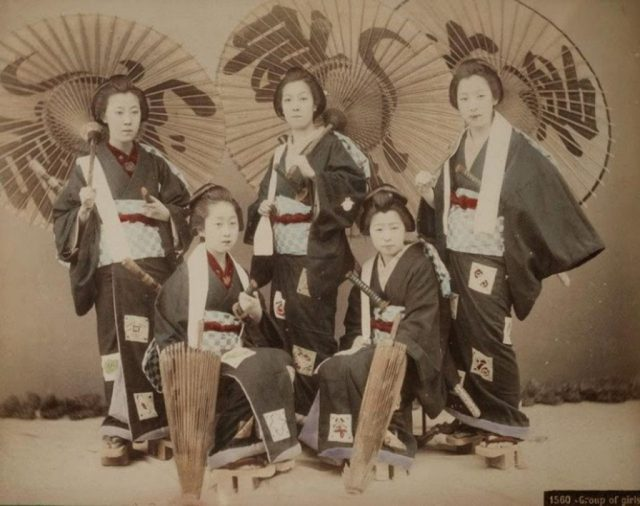Женщины-самураи - нежные воительницы 4