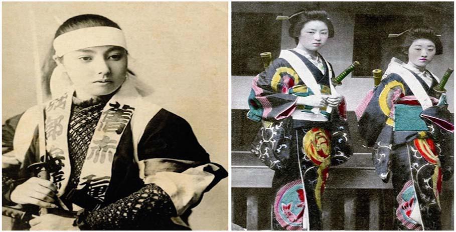 Женщины-самураи — нежные воительницы