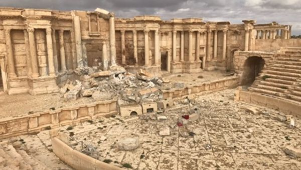 Загадочная Пальмира. Зло под солнцем