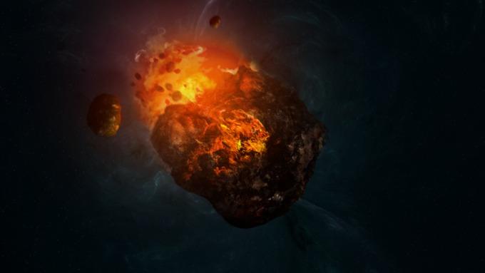 Земле угрожает гигантский пузырь