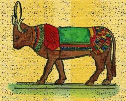 Аписы — боги с головой быка