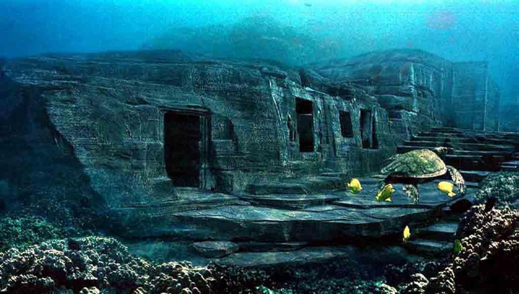 Йонагуни — подводное металлическое сооружение