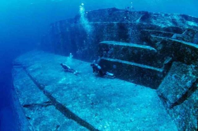Йонагуни - подводное металлическое сооружение