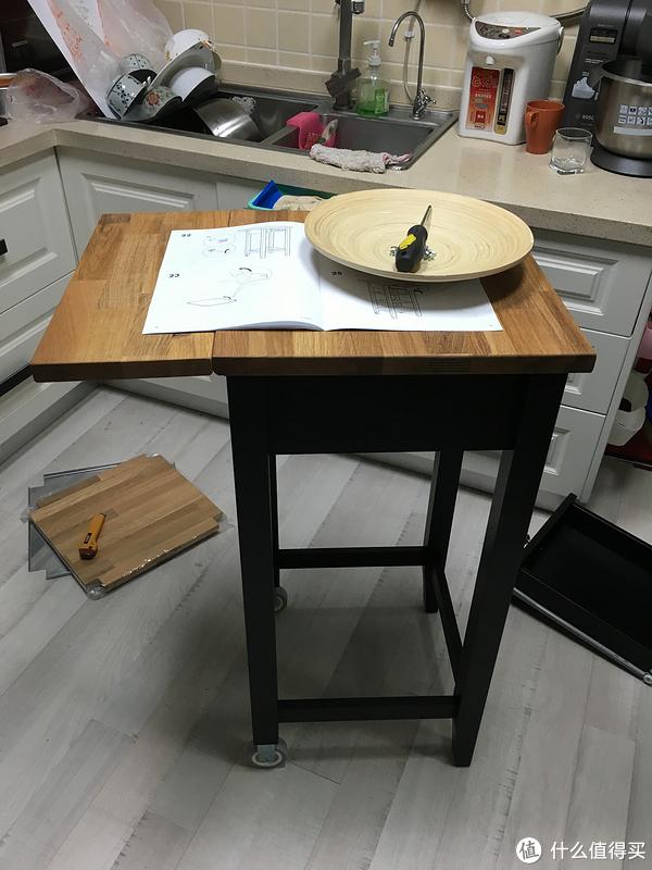 granite top kitchen cart remodel dallas 大人玩的 乐高 ikea 斯坦托厨房推车 什么值得买