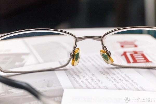 更換眼鏡小部件 - 硅膠鼻托換為鈦鼻托_開箱曬物_什么值得買