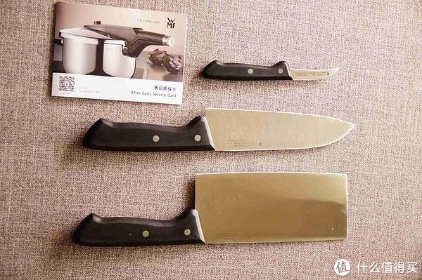 rating kitchen knives outdoor sets 本站首晒 wmf classic line系列厨房刀具三件套开箱 简单使用 什么值得买 line系列厨房刀具三件套开