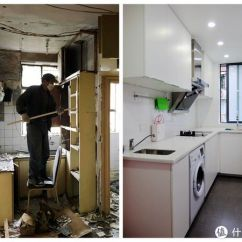 Ikea Kitchen Countertops Porcelain Sinks 装修的坑慢慢填篇二 厨房篇 上 宜家橱柜 亚克力台面 西门子烟机灶 西门子烟机