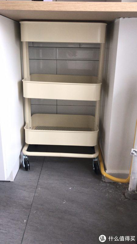 granite top kitchen cart kitchen.com 8个方面 解答你对宜家橱柜的所有疑问 ikea 宜家整体厨房订购经验分享 爆款拉斯克小推车