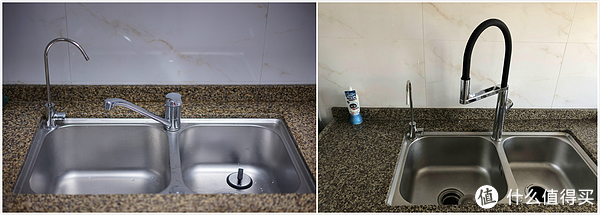 delta kitchen faucets commercial with sprayer 现代化厨房改造de进阶之路大白u悦感应厨房龙头测评 值友评测 什么值得买
