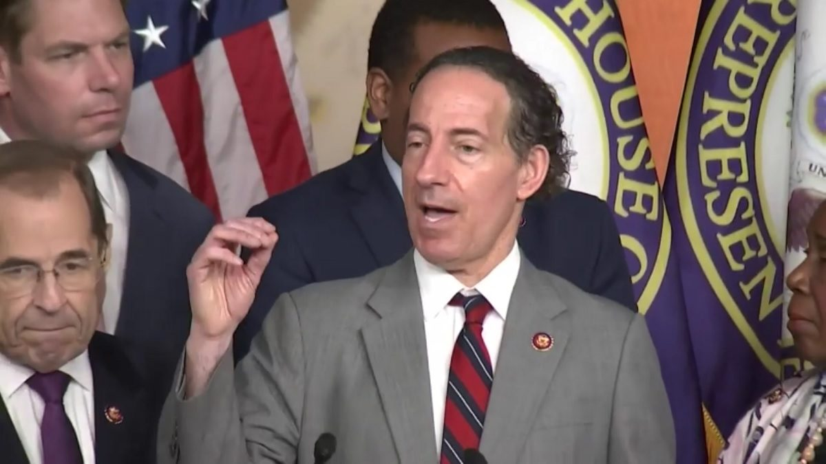 House Judiciary Democrat Jamie Raskin Says 'We Are in an Impeachment Investigation' Now
