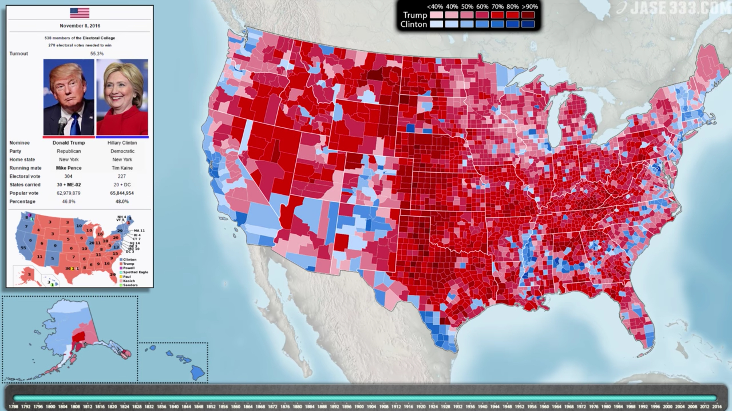 Election Map Showing Trump S Win Reportedly Being Hung In The White House