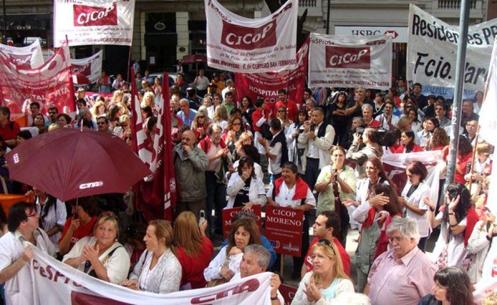 Médicos bonaerenses le piden a Vidal que reabra las paritarias