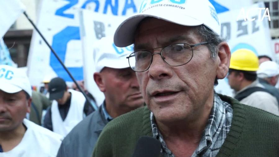 """Juan Carlos Alderete: """"Hay una catástrofe social, esto no va más"""""""