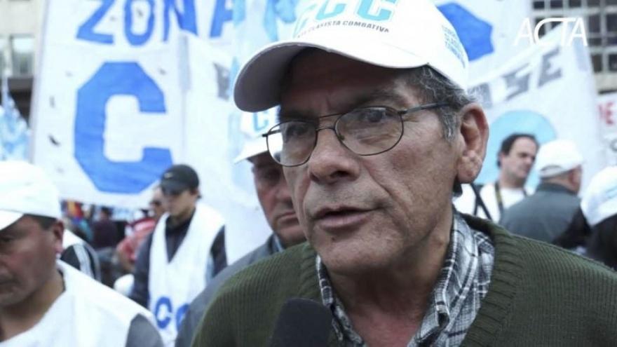 """Alderete dijo que Macri """"está provocando una catástrofe social"""""""