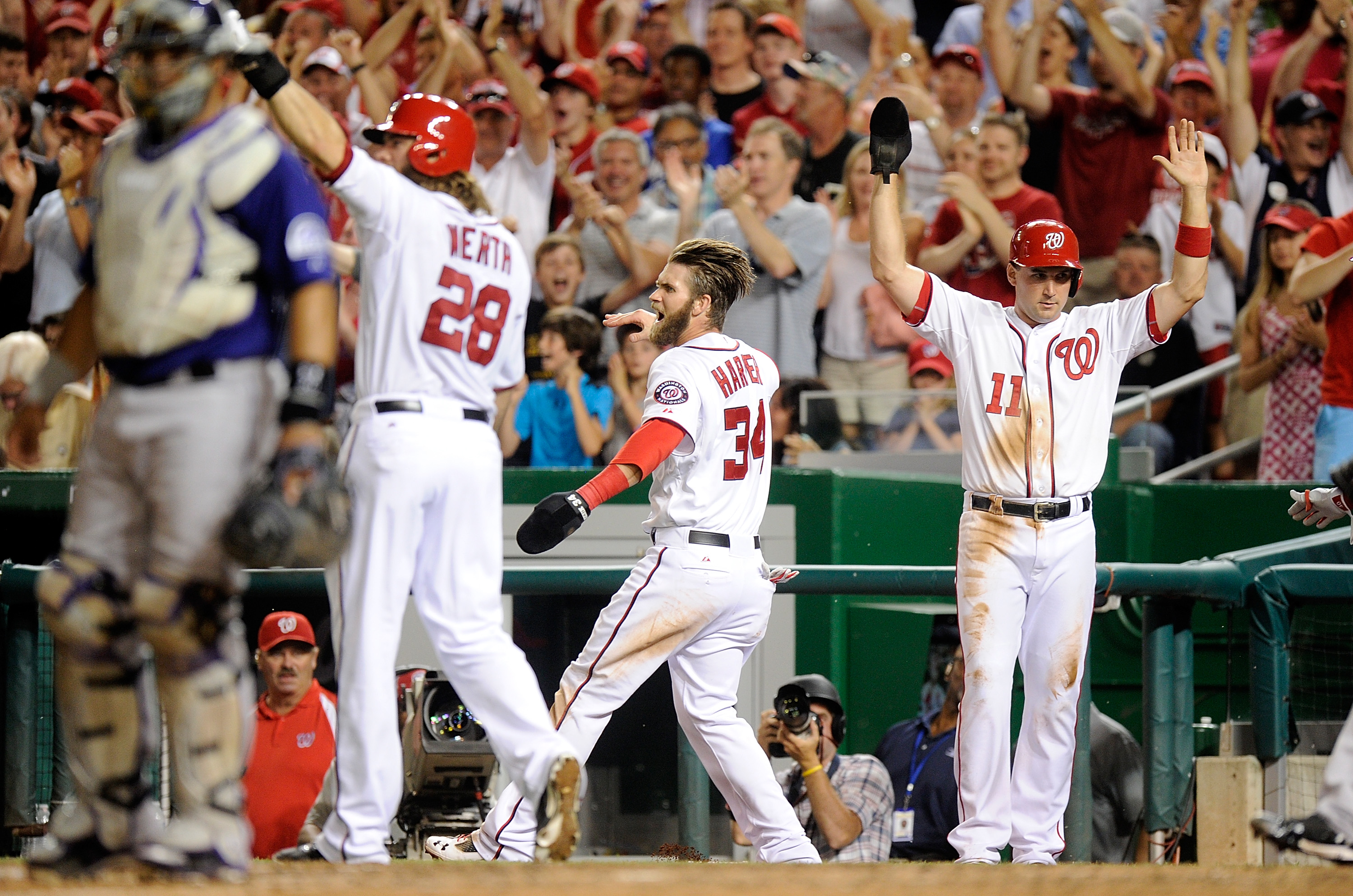 7th Inning Bombardment Lifts Nats Past Rockies – MLB Roundup