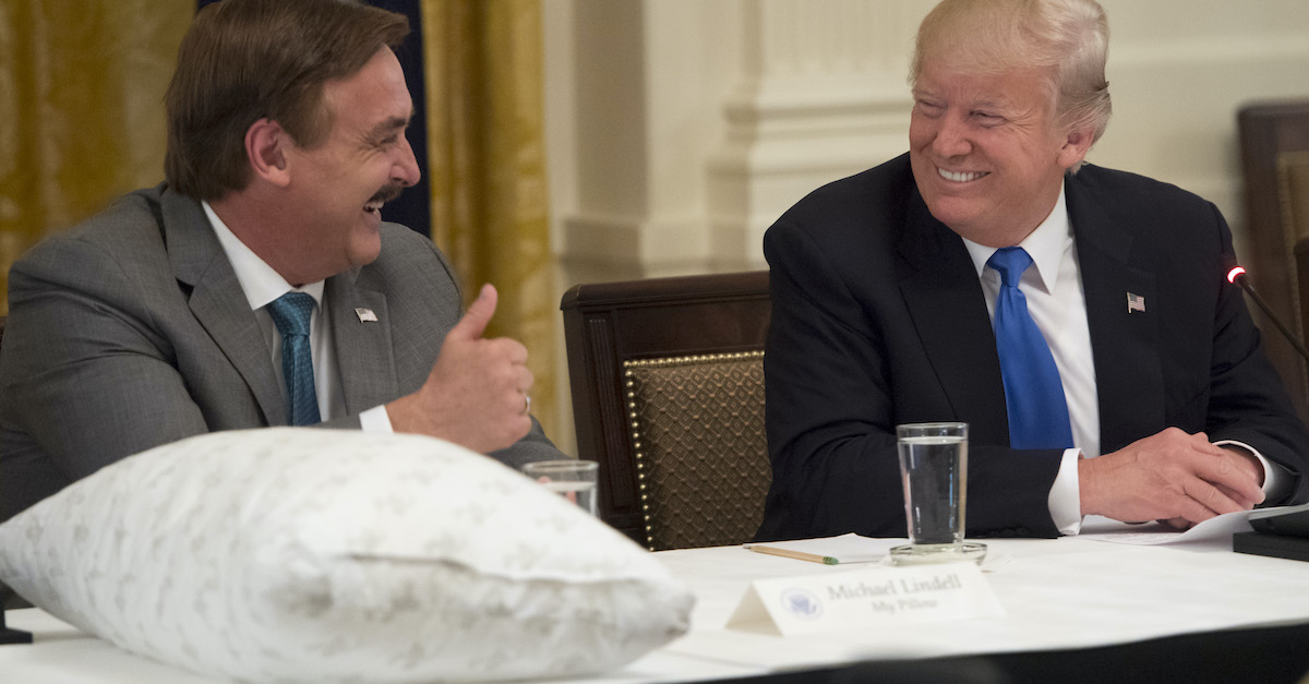 dominion voting systems sues mike lindell for 1 3 billion