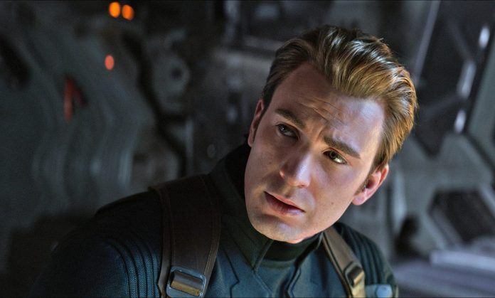 chris evans as captain america in the final phase of the avengers.