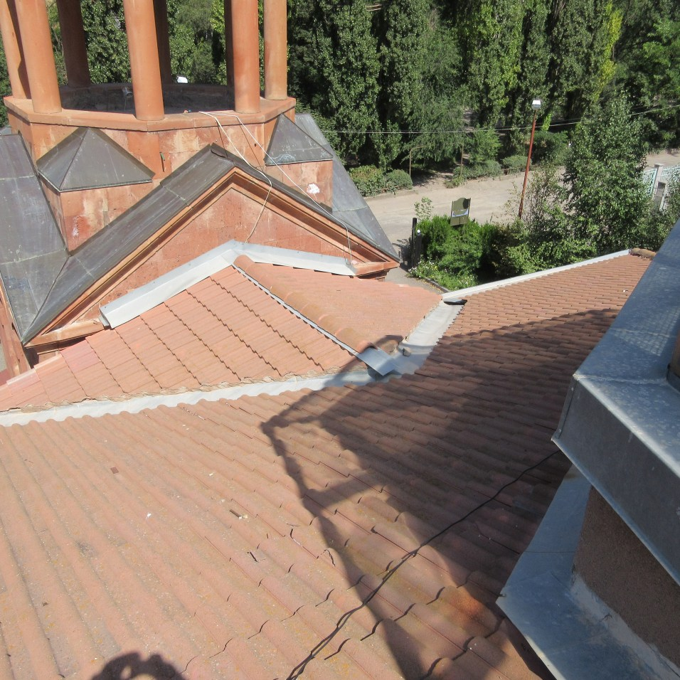 Damage to Church Roof