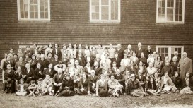 Worcester Church congregation early 1900s