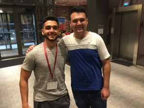 Childhood friends, back together after seven years apart (2 Aug. 2018)