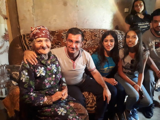 Day 12 Gyumri family