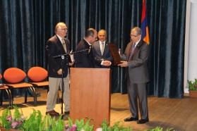 Pastors with AMAA Executive Director / CEO, Zaven Khanjian