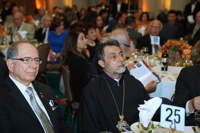Mr. Khanjian and Archbishop Hovnanian