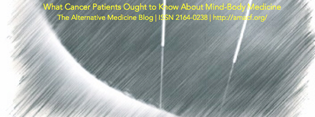 Acupuncture and Dysphagia-What Cancer Patients Learn from a Study Protocol-Part Three