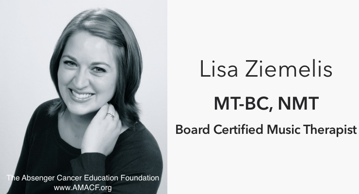 Music Therapy: Lisa Ziemelis Joined Absenger Cancer Education Foundation