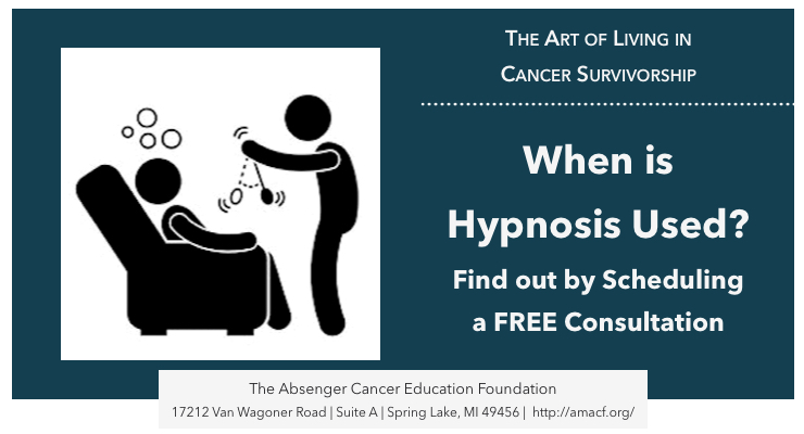 When is hypnosis used? Find out by scheduling a FREE consultation