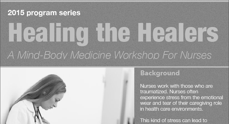 Healing the Healers: A Mind-Body Medicine Workshop for Health Professionals
