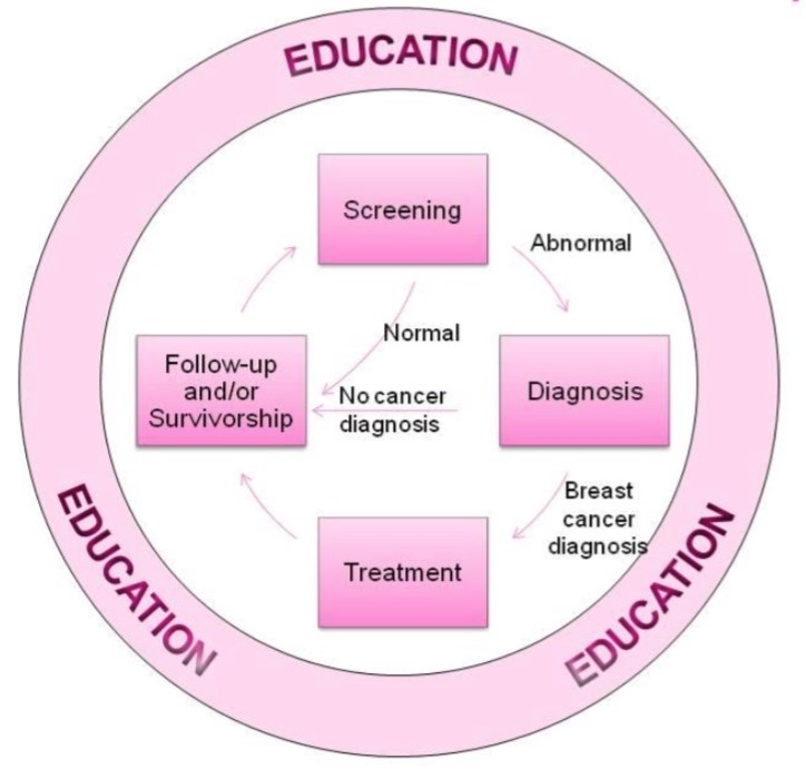 981873e17 This is an image of ACEF-breast-cancer-survivorship-program-contiuum