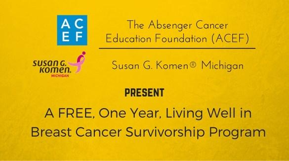 Image of Absenger-Cancer-Education-Foundation-ACEF-Susan-G-Komen-Michigan