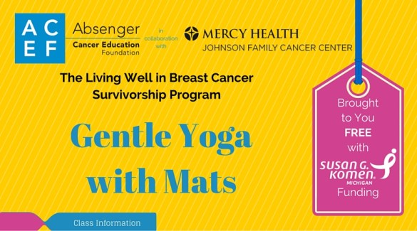 ACEF gentle yoga with mats class information