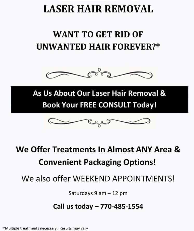 Laser Hair Removal Promo