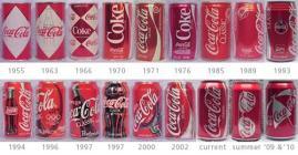 Кока Кола - история на кенчетата