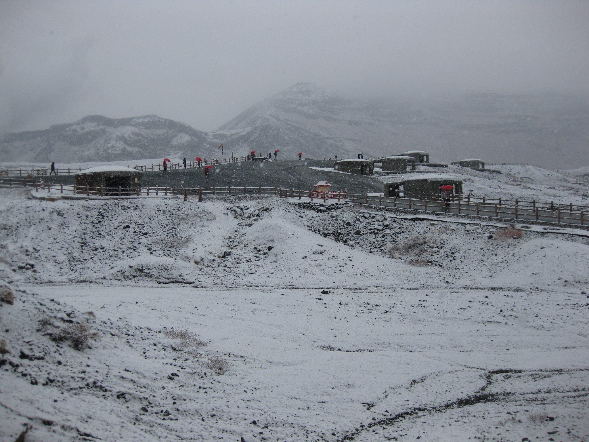 阿蘇登山口2012年12月5日