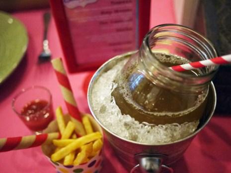 Classic potato strips with Wafer Sticks and Watermelon Apple Fizz