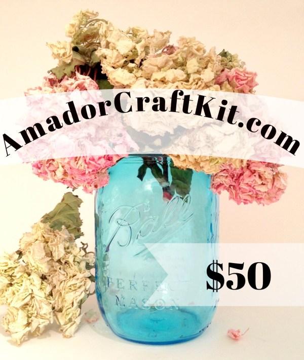 $50 Gift Card Amadorcraftkit.com