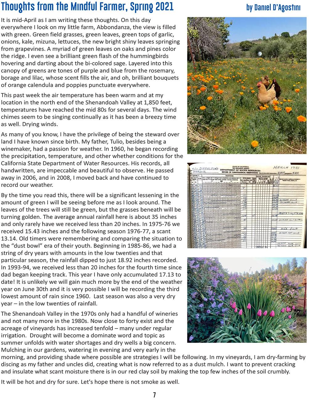 foa spring newsletter pg 7